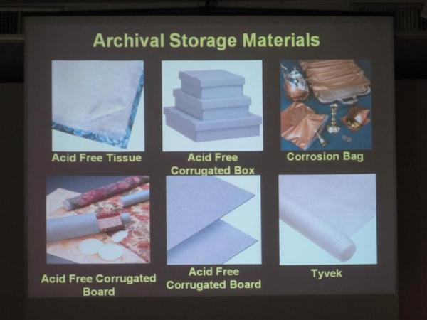 Preservation of Your Textile Collections -  Basics, Tips,  and with Show and Tell0