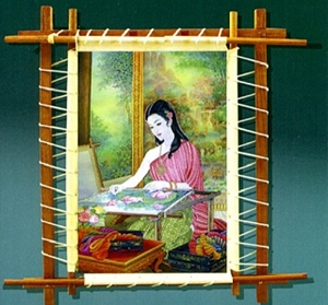 A Tour of  Exhibition of Embroidered Pictures & Demonstration of Khon Costumes0