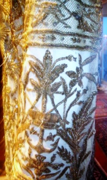 REVEALING A RESTORATION SUCCESS - RAMA V THAI-DANISH TEXTILE TREASURE- Before & After1