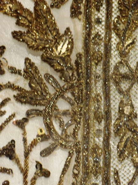 REVEALING A RESTORATION SUCCESS - RAMA V THAI-DANISH TEXTILE TREASURE- Before & After0