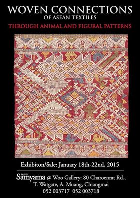 TEXTILE EXHIBITION OF Samyama Co., Ltd Collection Chiang Mai Thailand0