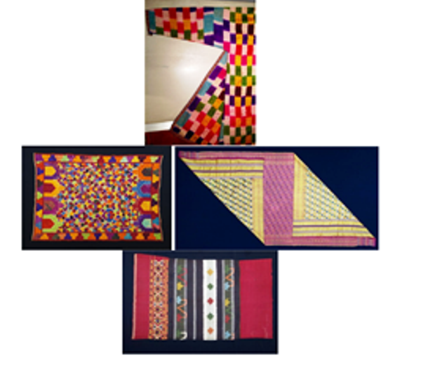Collectors Corner  AN ECLECTIC VOYAGE THROUGH VERY RARE AND HIGHLY COLLECTABLE WORLD TEXTILES0